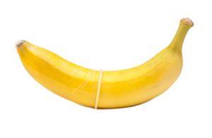 banane + Kondom